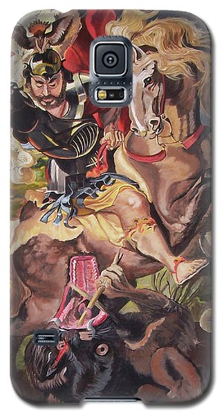 St George And The Dragon Galaxy S5 Case