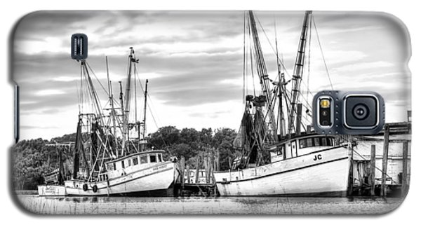 St. Helena Shrimp Boats Galaxy S5 Case