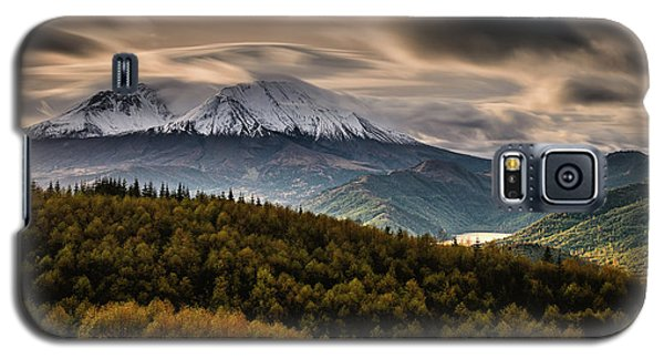 Galaxy S5 Case featuring the photograph St. Helens Wrath by Dan Mihai