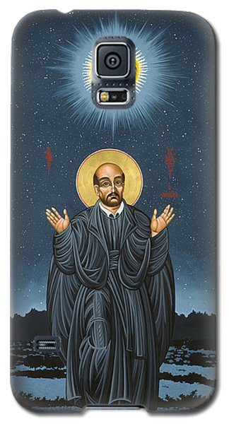 St. Ignatius In Prayer Beneath The Stars 137 Galaxy S5 Case
