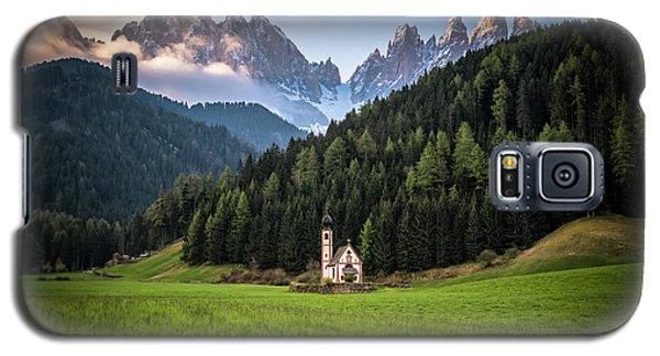 St. Johann Church In Val Di Funes Galaxy S5 Case