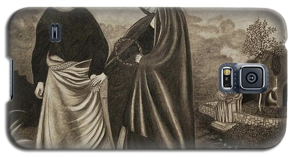 St. John And Blessed Mother At The Tomb Galaxy S5 Case