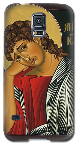 Galaxy S5 Case featuring the painting St. John The Apostle 037 by William Hart McNichols