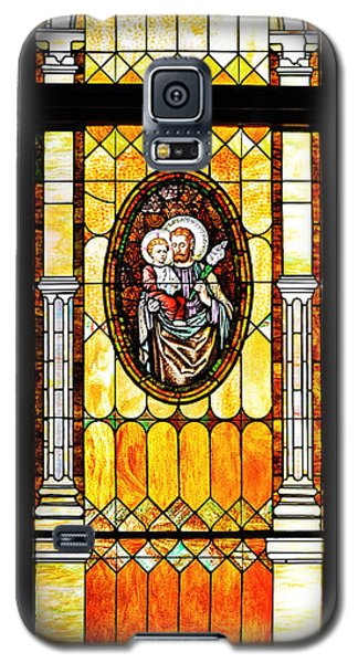 Galaxy S5 Case featuring the photograph St Joseph Immaculate Conception San Diego by Christine Till