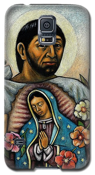 St. Juan Diego And The Virgins Image - Jljdv Galaxy S5 Case