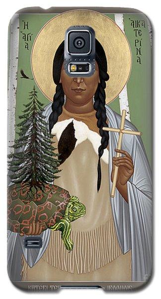 St. Kateri Tekakwitha Of The Iroquois - Rlktk Galaxy S5 Case