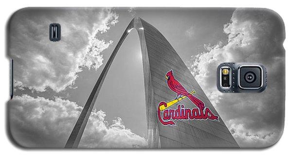 St. Louis Cardinals Busch Stadium Gateway Arch 1 Galaxy S5 Case