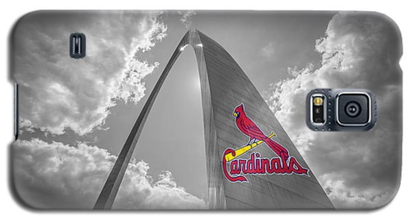 St. Louis Cardinals Busch Stadium Gateway Arch 1 Galaxy S5 Case