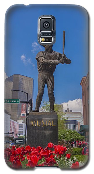 St. Louis Cardinals Busch Stadium Stan Musial Roses Galaxy S5 Case