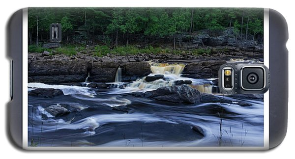 Galaxy S5 Case featuring the photograph St Louis River Scrapbook Page 1 by Heidi Hermes