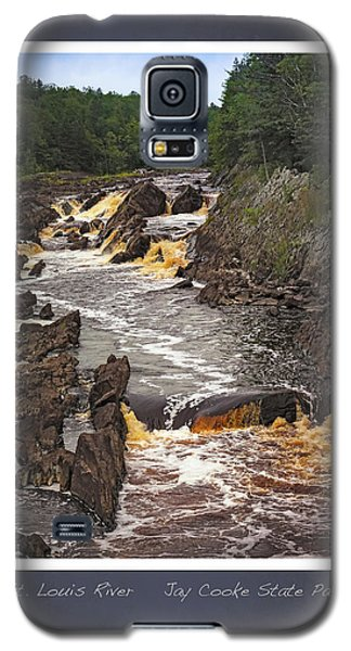 Galaxy S5 Case featuring the photograph St Louis River Scrapbook Page 3 by Heidi Hermes