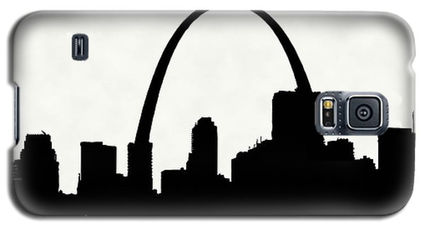St Louis Silhouette With Boats 2 Galaxy S5 Case