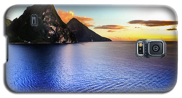 St. Lucia's Cobalt Blues Galaxy S5 Case by Karen Wiles