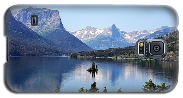 St Mary Lake - Glacier National Park Mt Galaxy S5 Case by Christine Till