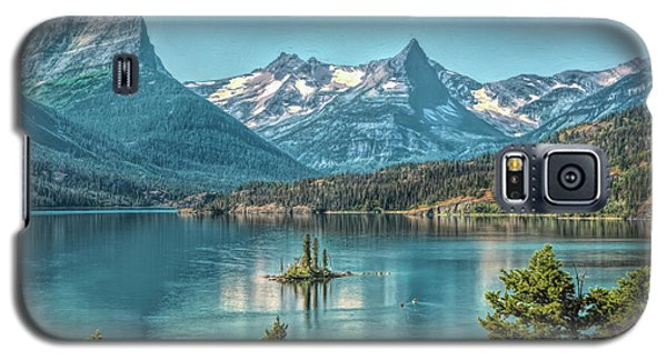 St Mary Lake Galaxy S5 Case