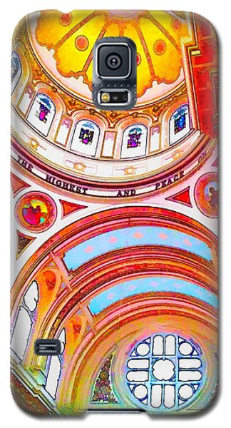 St. Mary Of The Angels 1 Galaxy S5 Case by Dave Luebbert