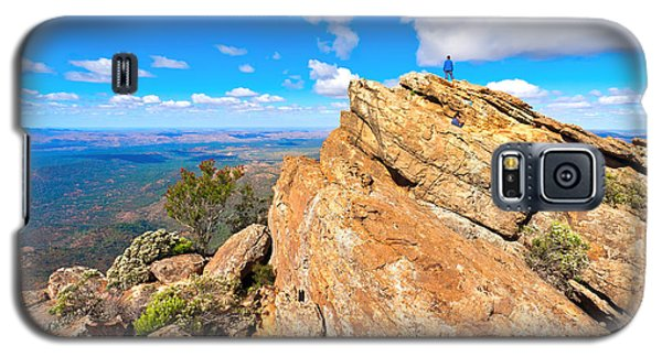 Galaxy S5 Case featuring the photograph St Mary Peak by Bill  Robinson