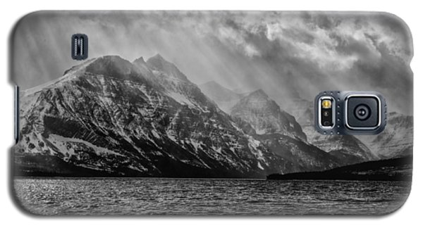St Mary Storm, Glacier National Park  Galaxy S5 Case
