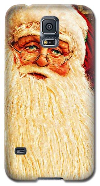St. Nicholas Melting Canvas Photoart Galaxy S5 Case