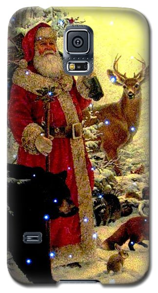 St Nick  And Friends Galaxy S5 Case
