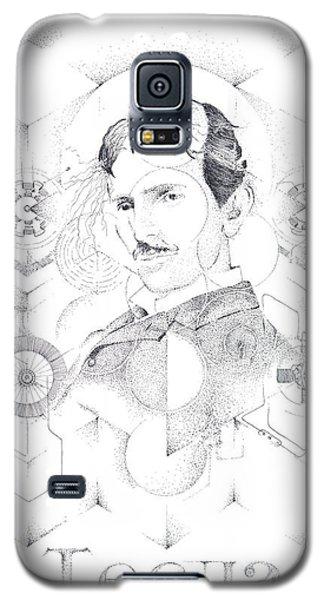 St. Nikola Tesla Of Serbia Sombra De Arreguin Galaxy S5 Case