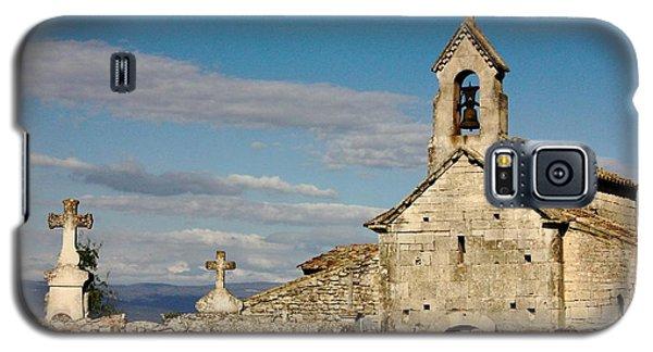 St. Pantaleon Church,  Luberon, France Galaxy S5 Case