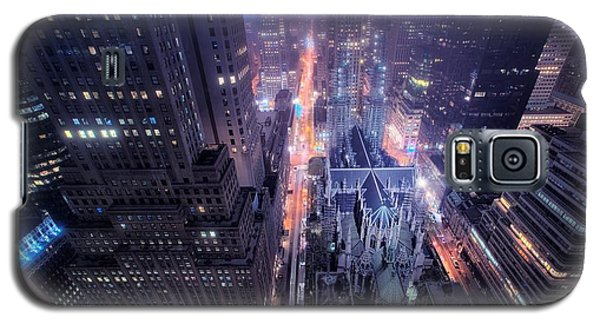 Design Galaxy S5 Case - St. Patrick's Cathedral by Mariel Mcmeeking