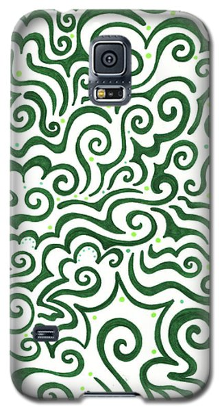 St Patrick's Day Abstract Galaxy S5 Case