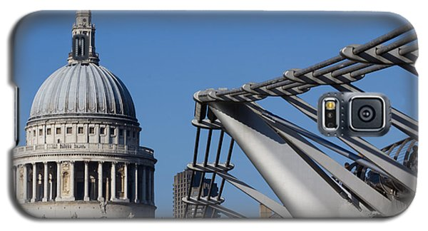 St Pauls Cathedral And The Millenium Bridge  Galaxy S5 Case
