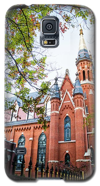 Galaxy S5 Case featuring the photograph St Paul's Cathedral In Downtown Birmingham by Shelby Young