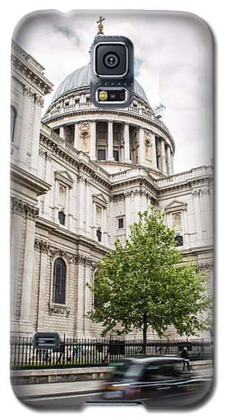St Pauls Cathedral With Black Taxi Galaxy S5 Case