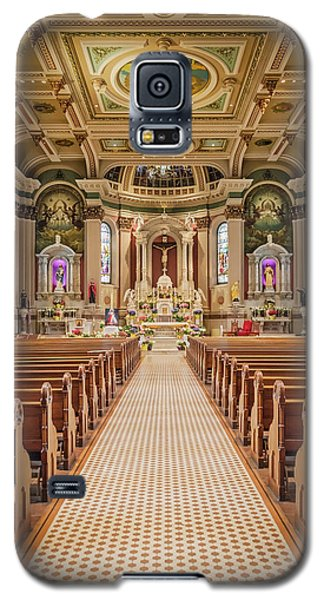 Galaxy S5 Case featuring the photograph St Peter The Apostle Church Pa by Susan Candelario