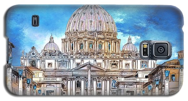 St. Peter's Basilica Galaxy S5 Case