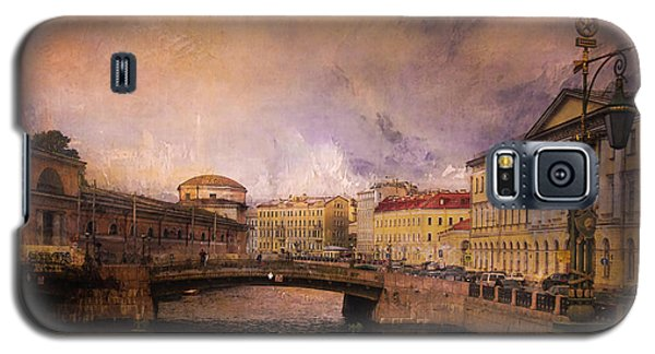 Galaxy S5 Case featuring the photograph St Petersburg Canal by Jeff Burgess
