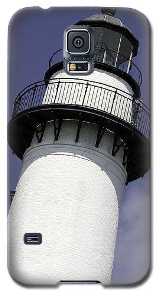 St Simons Island Lighthouse Galaxy S5 Case by Elizabeth Eldridge