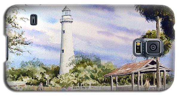 St. Simons Island Lighthouse Galaxy S5 Case