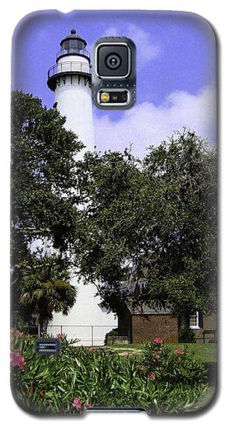 St Simons Isle Lighthouse Galaxy S5 Case by Elizabeth Eldridge