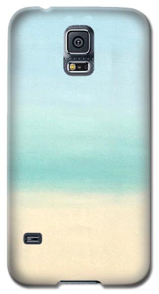 St Thomas #1 Seascape Landscape Original Fine Art Acrylic On Canvas Galaxy S5 Case