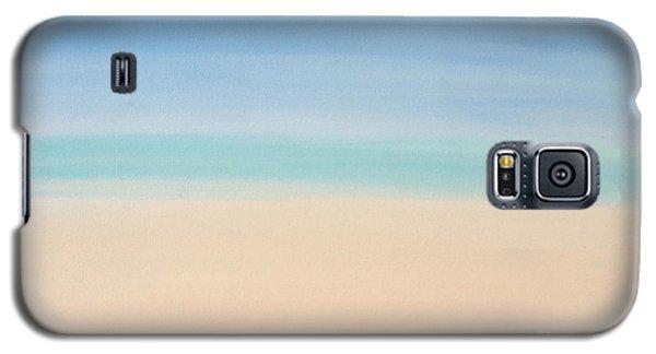 St Thomas #2 Seascape Landscape Original Fine Art Acrylic On Canvas Galaxy S5 Case