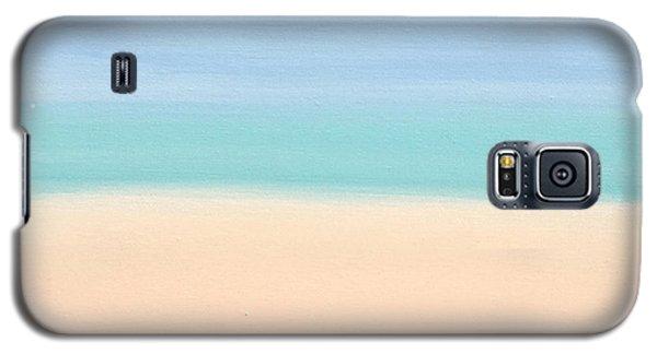 St Thomas #4 Seascape Landscape Original Fine Art Acrylic On Canvas Galaxy S5 Case