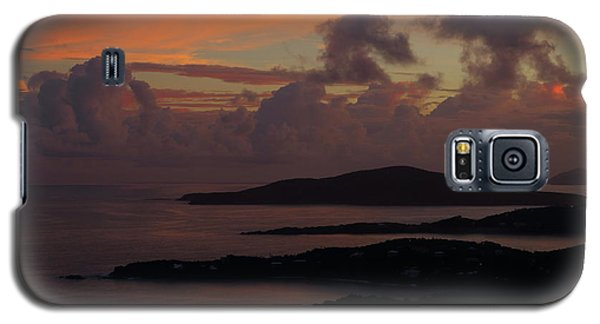 Galaxy S5 Case featuring the photograph St Thomas Sunset At The U.s. Virgin Islands by Jetson Nguyen