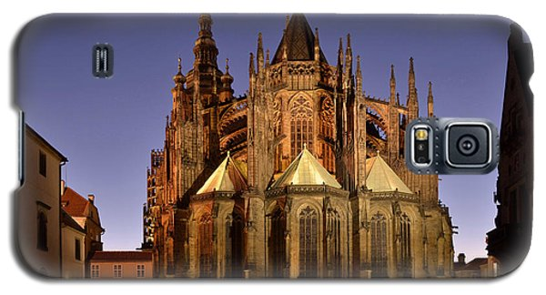 Galaxy S5 Case featuring the photograph St Vitus Cathedral Prague by Marek Stepan