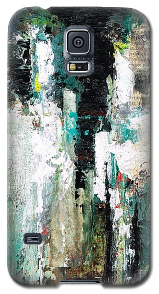 Galaxy S5 Case featuring the painting I Fooled Around And Fell In Love by Frances Marino