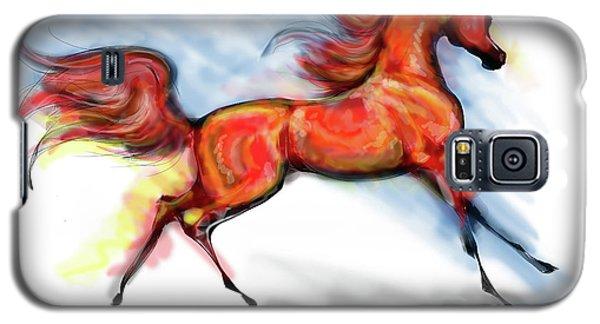 Staceys Arabian Horse Galaxy S5 Case