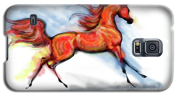 Staceys Arabian Horse Galaxy S5 Case by Stacey Mayer