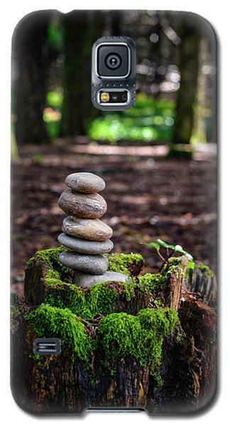 Galaxy S5 Case featuring the photograph Stacked Stones And Fairy Tales IIi by Marco Oliveira