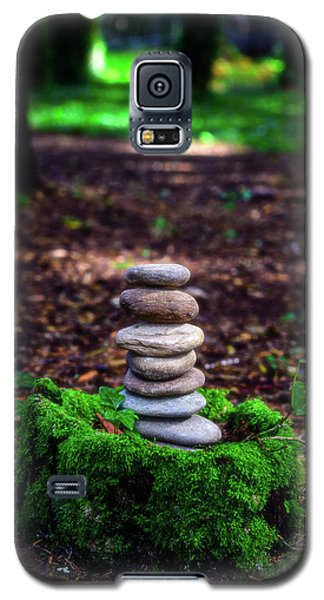 Galaxy S5 Case featuring the photograph Stacked Stones And Fairy Tales Iv by Marco Oliveira