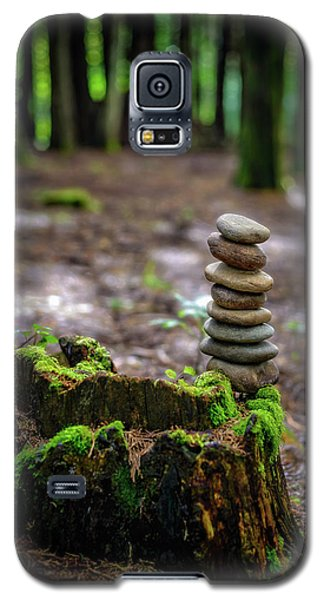 Galaxy S5 Case featuring the photograph Stacked Stones And Fairy Tales by Marco Oliveira