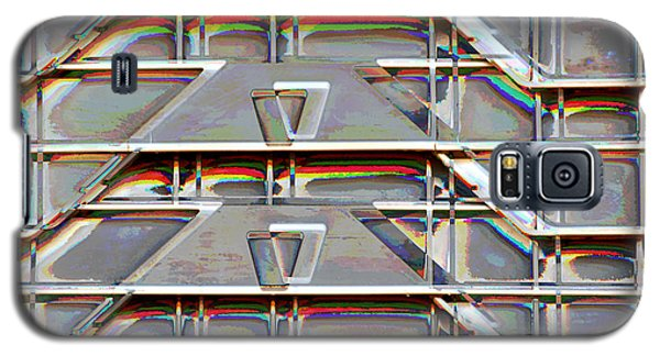 Stacked Storage Crates Abstract Galaxy S5 Case