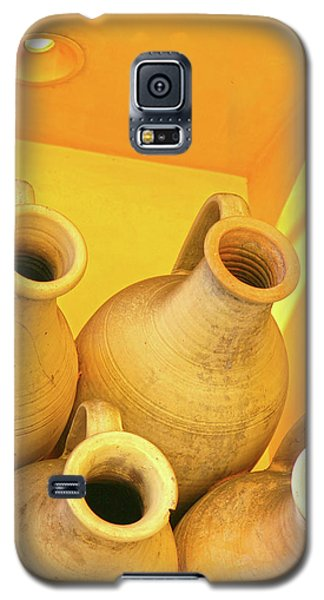 Stacked Yellow Jars Galaxy S5 Case